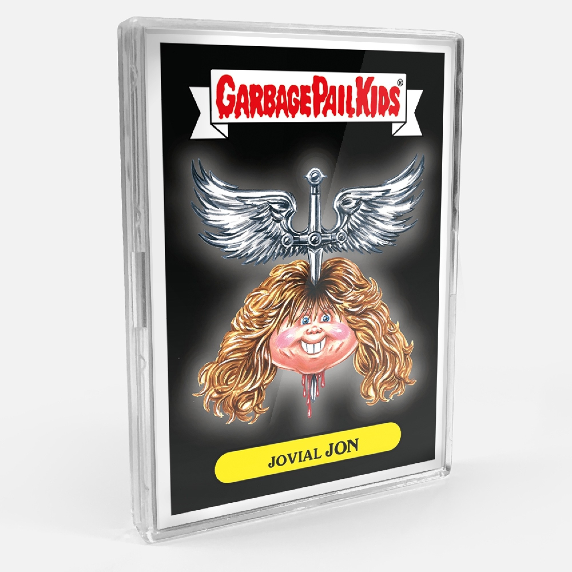 b9ff0d5e99a Topps today launched their annual ode to the music s biggest acts. Today  Topps Launches 2018 Garbage Pail Kids Rock   Roll Hall of Fame online set.