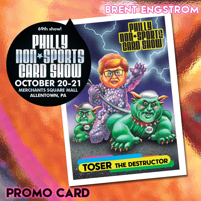 Philly Non Sports Card Show Reveals First Promo Cards Gpknewscom