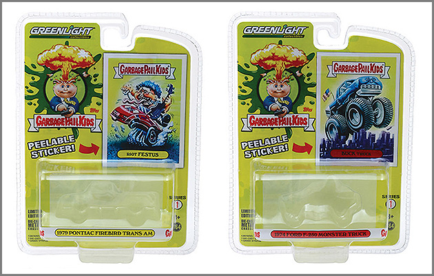 GreenLight Collectibles to Offer GPK Die-Cast Cars in 2019
