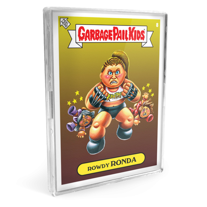 25c2f8795 Fresh off the announcement by WWE this morning of shirts being available at  wwe.com and Spencer's gifts, Topps decided to launch their wrestling themed  GPK ...