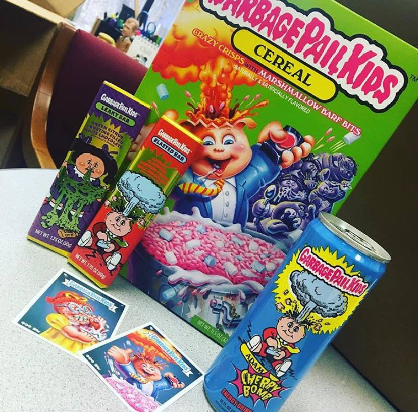 Garbage Pail Kids Candy & Cereal Coming Soon To FYE